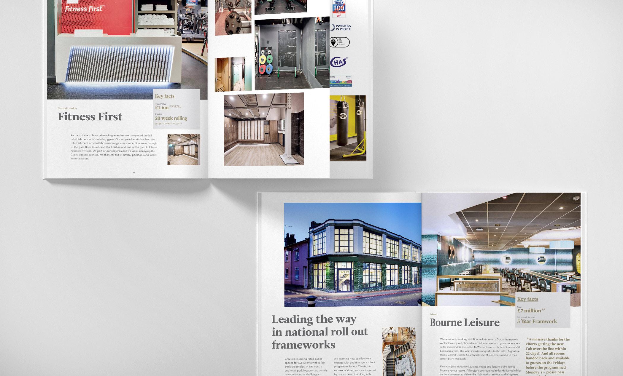 Ipswich magazine design