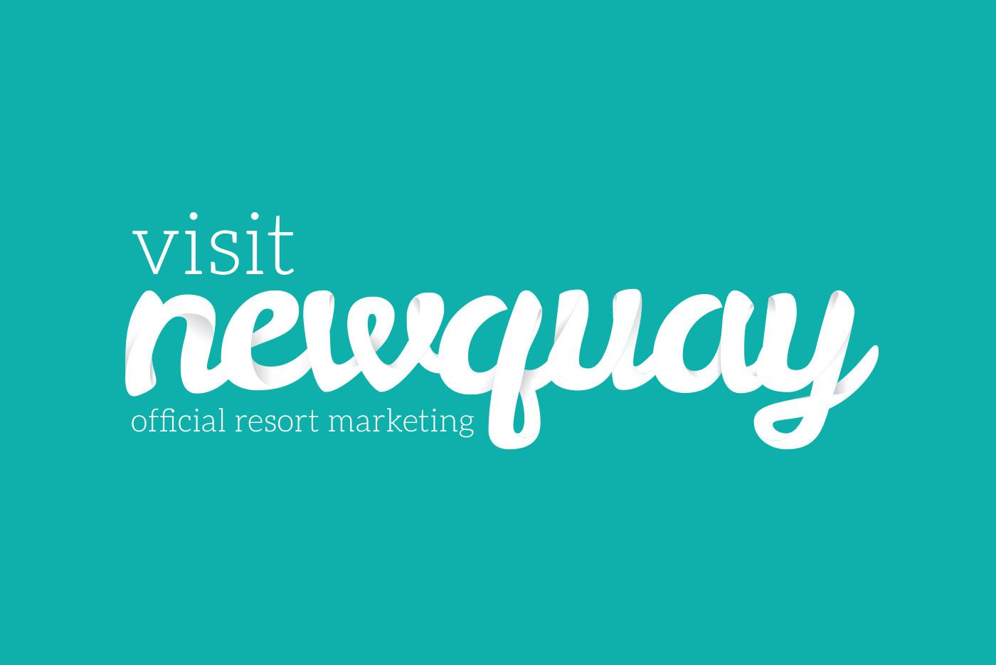 Visit Newquay branding