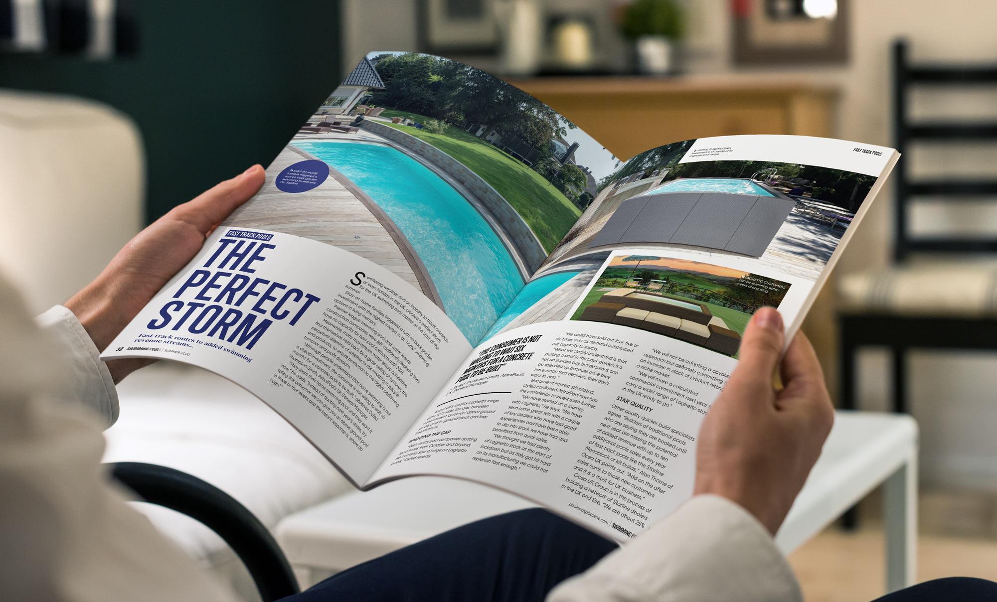 Magazine design Ipswich